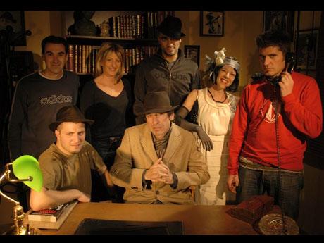 OM TV, l'équipe du tournage