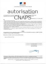 autorisation CNAPS