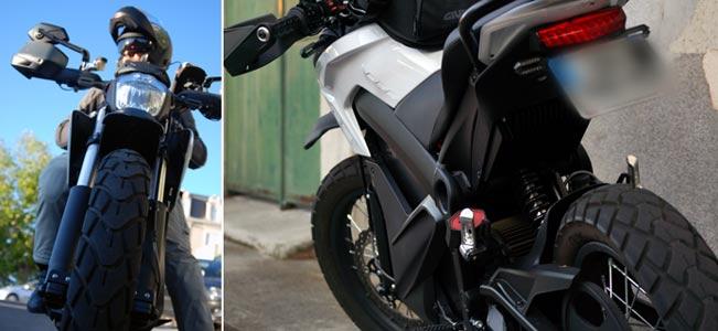 Moto électrique, 250 km à 160 km/h dans un silence absolu...